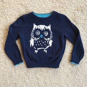 GAP Owl Sweater, 2T